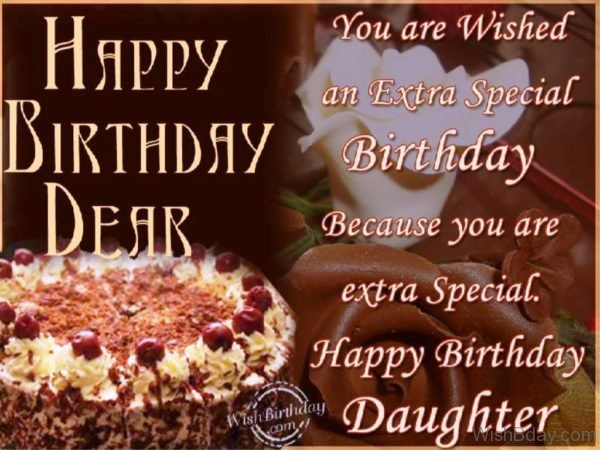 You Are Wished An Extra Special Birthday