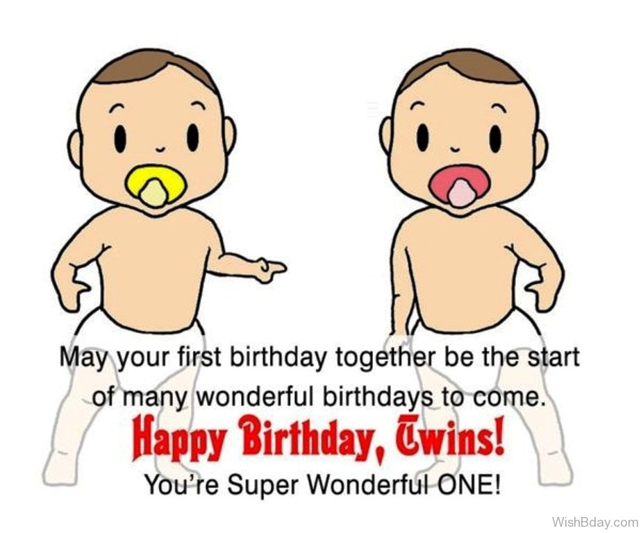 21 birthday wishes for twins you have super wonderful on e m4hsunfo