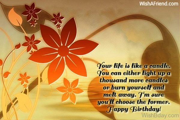 Your Life IS Like A Candle