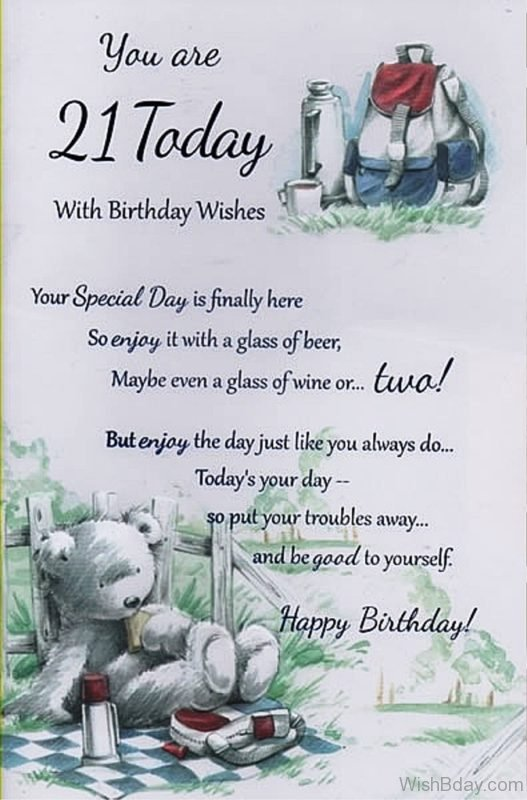 Your Special Day Is Finally Here