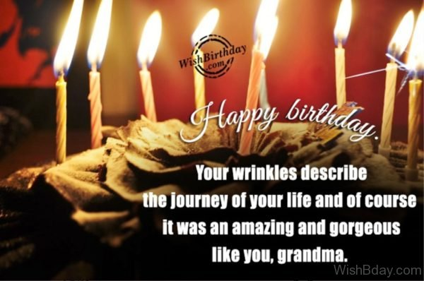 Your Wrinkles Describe The Journey Of Your Life