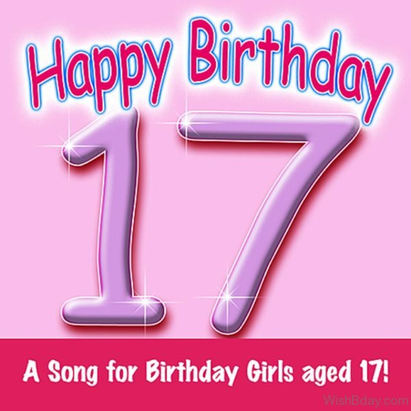 A Song For Birthday Girls Aged Seventeen