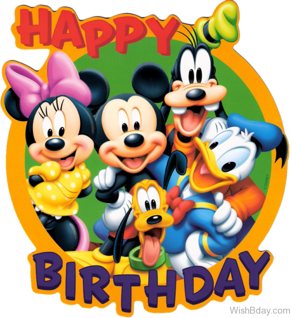 Cartoon Birthday Wishes