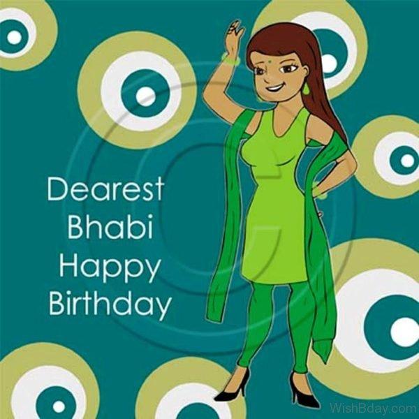 Dearest Bhabhi Happy Birthday