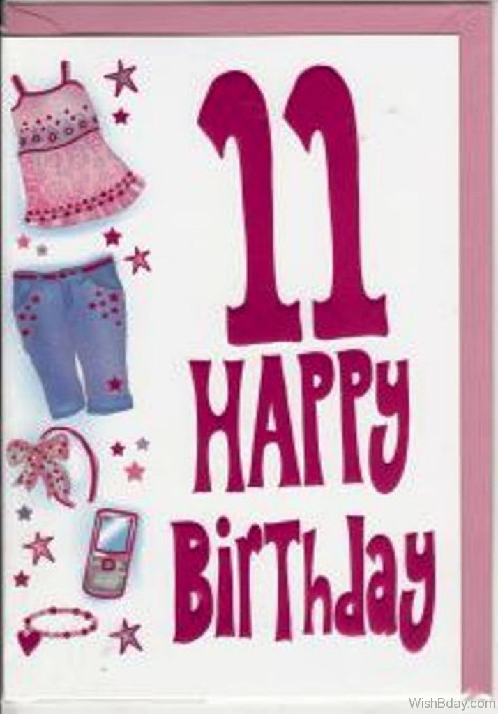 41 11 Birthday Wishes – 11th Birthday Cards
