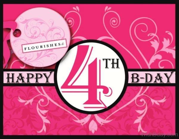 Fourth Birthday Wishes