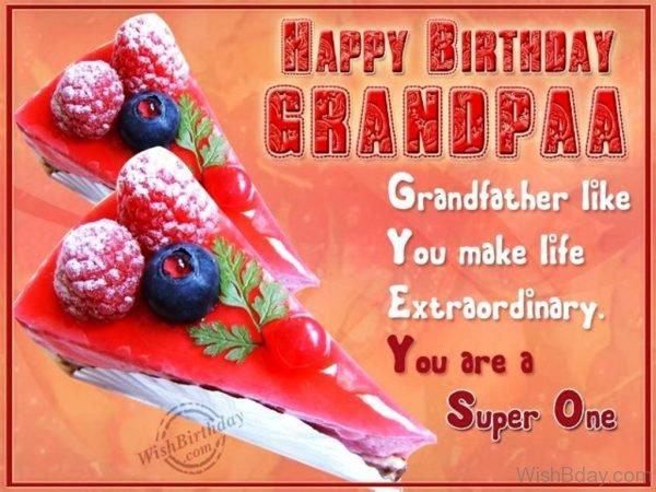 Grandfather Like You Make Life Extraordinary
