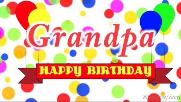 Grandpa Happy Birthday