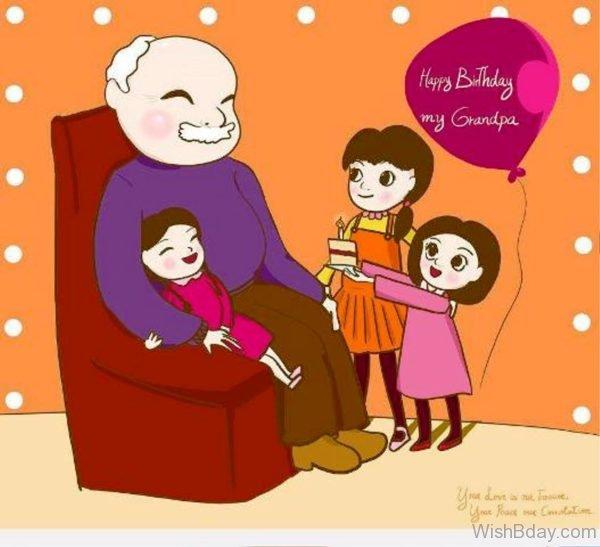 HAppy Birthday My Grandpa