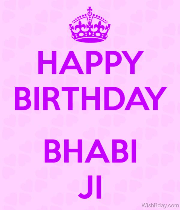 Happy Birthday Bhabhi Ji Image