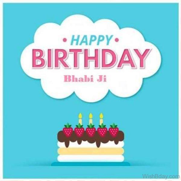 Happy Birthday Bhabhi Ji Nice Photo