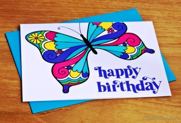 Happy Birthday Butterfly
