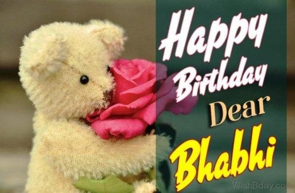 Happy Birthday Dear Bhabhi