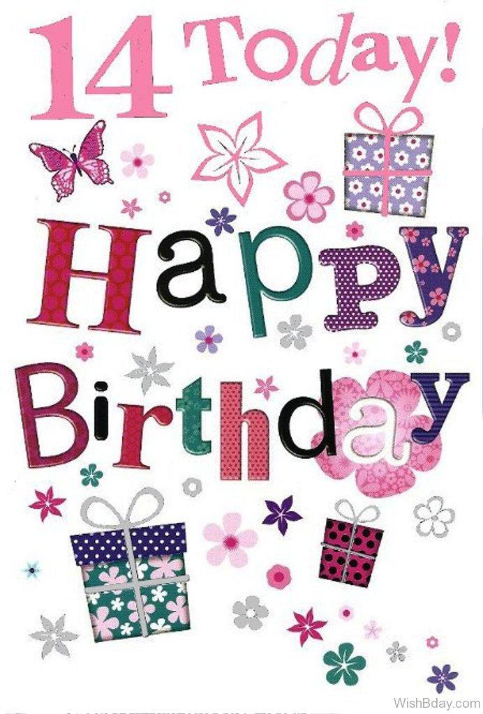 51 14th Happy Birthday Wishes