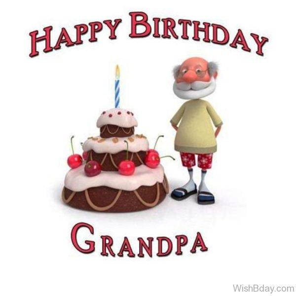 Happy Birthday Grandfather My Dear