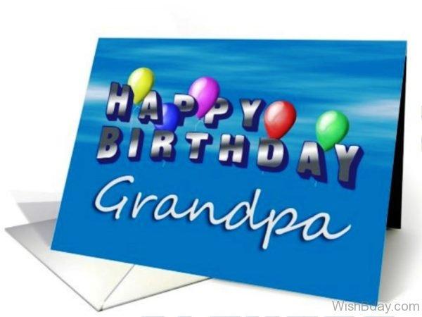 Happy Birthday Grandpa Dear
