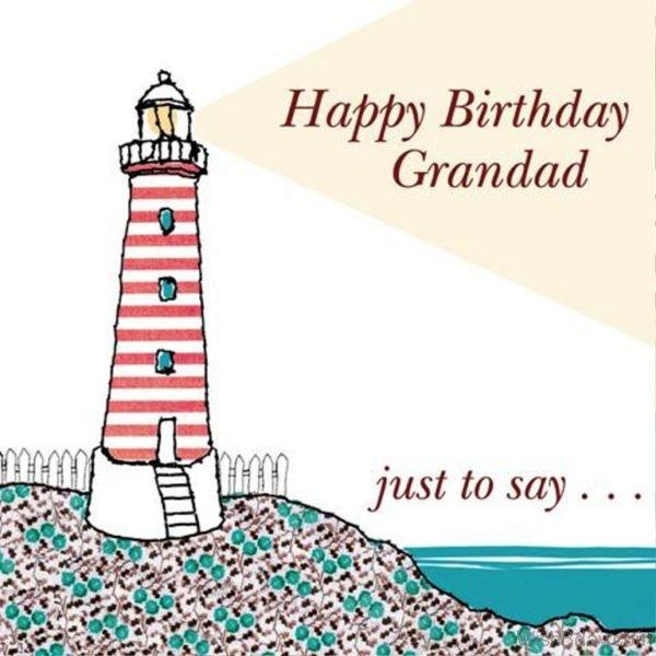 Happy Birthday Grandpa Just To Say