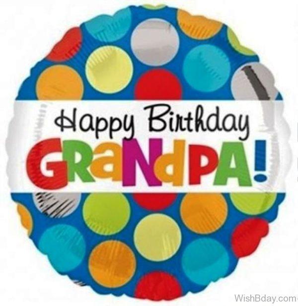 Happy Birthday My Dear Grandpa