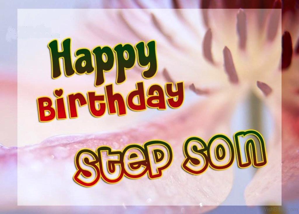 happy birthday my step son