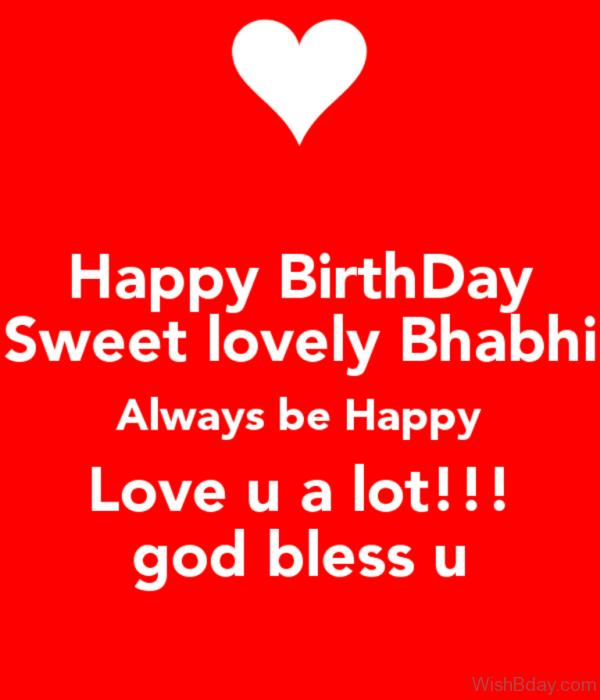 Happy Birthday Sweet Lovely Bhabhi