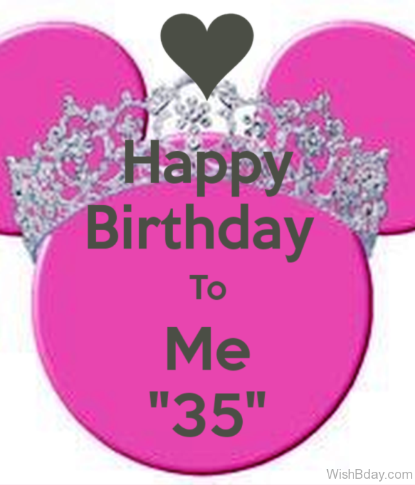 Happy Birthday To ME My Dear