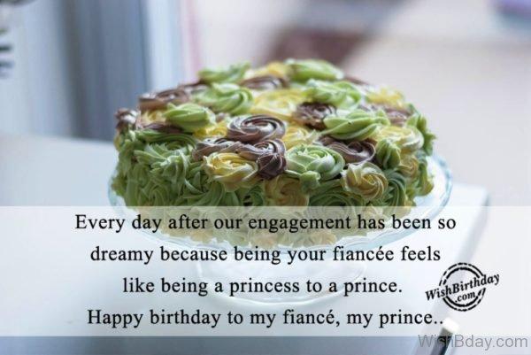 Happy Birthday To MY Fiances My Prince
