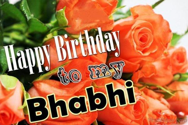 Happy Birthday To My Bhabhi