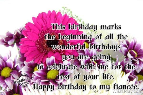 Happy Birthday To My Fiance