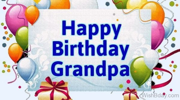 Happy Birthday Wishes For Grandpa