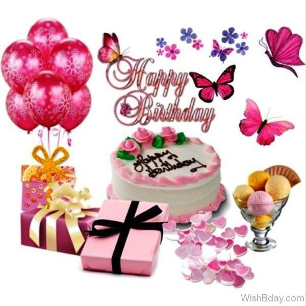 Happy Birthday With Cake 2