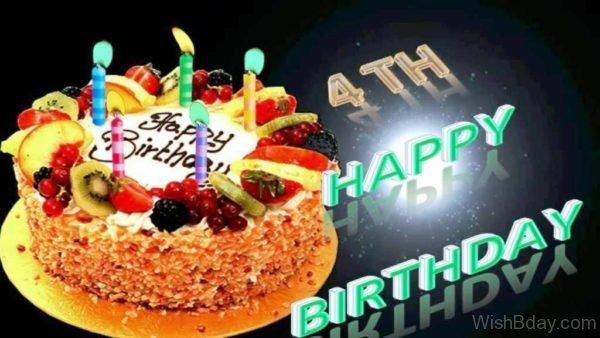 Happy Birthday With Cake 3