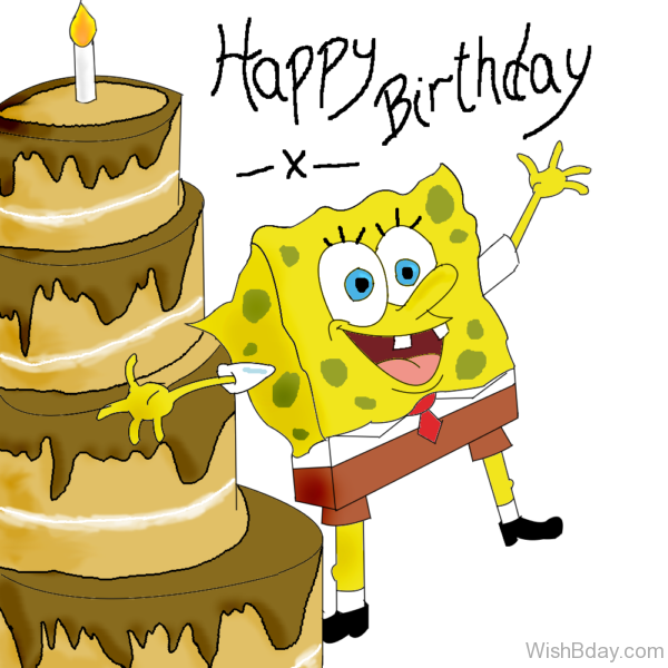 Happy Birthday With Spongbob