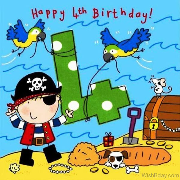 Happy Fourth Birthday