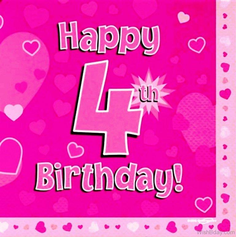 38 4th Birthday Wishes Happy 4th Birthday Wishes To My