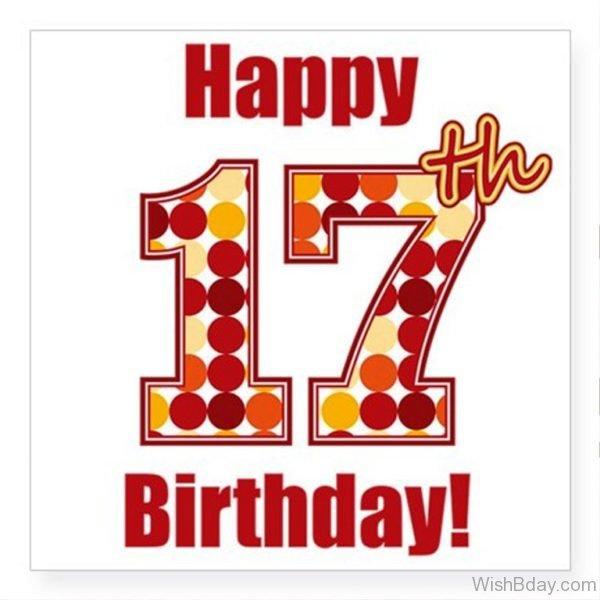 Happy Seventeenth Birthday