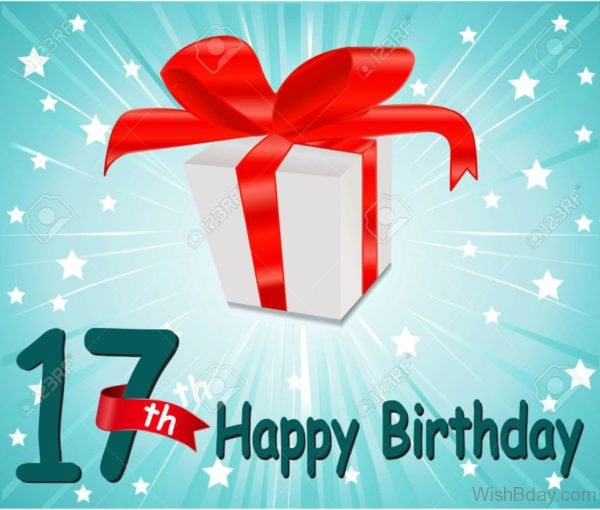 Happy Sevententh Birthday