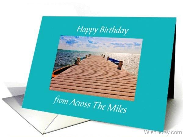 Happy birthday From Across The Miles