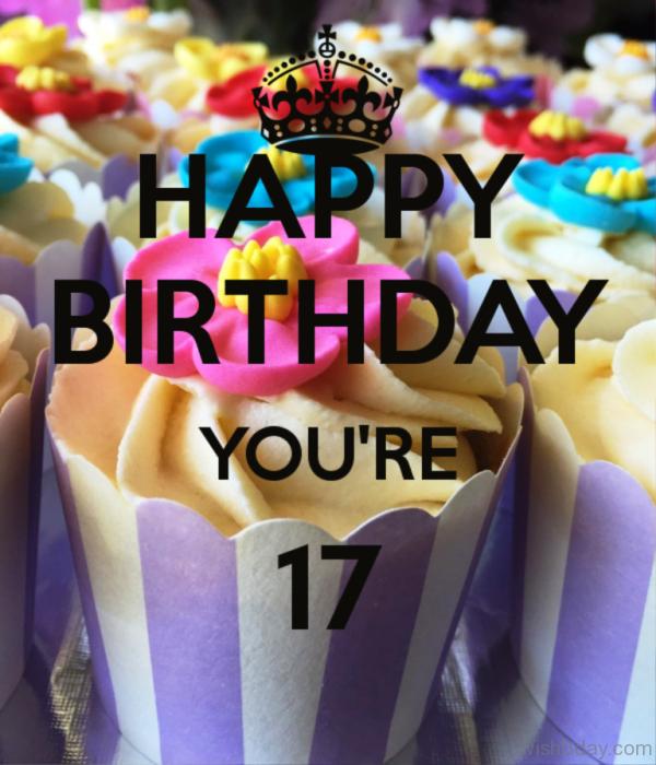 Happy birthday You Are Seventeen