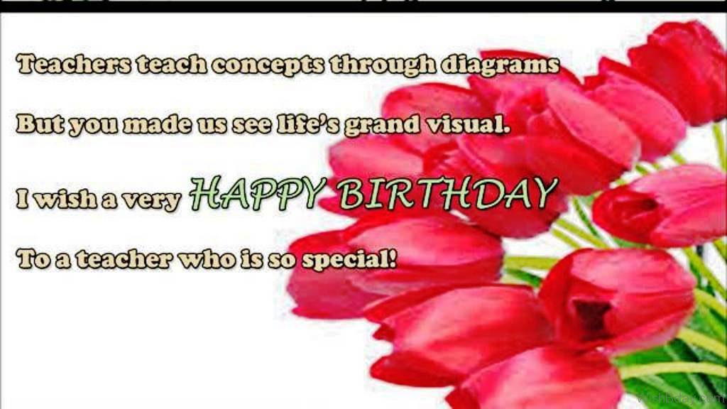 valentine day quotes for daughter in law - 55 Birthday Wishes For Teacher