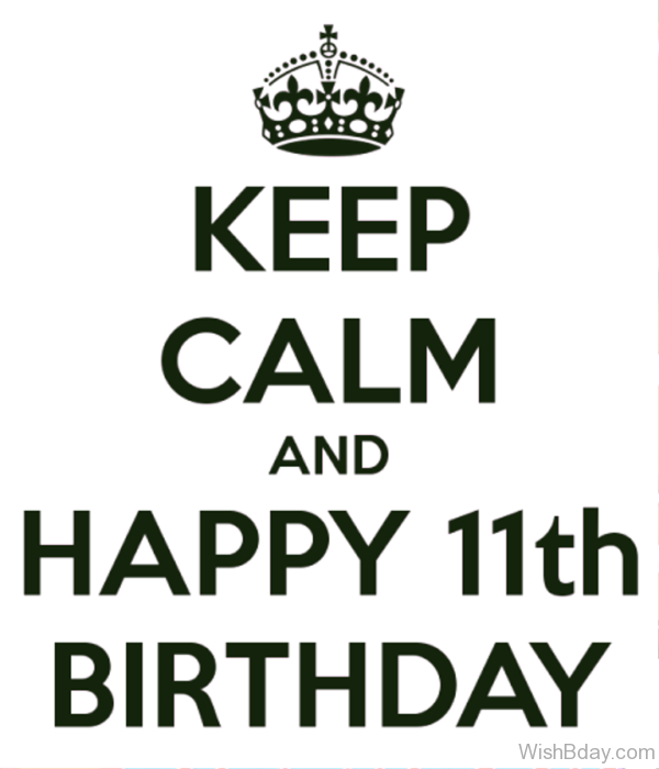 Keep Calm And Happy Birthday 2