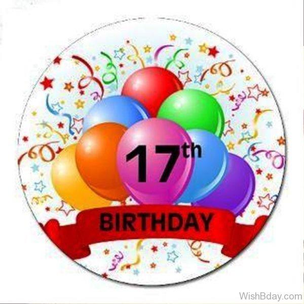 Seventeen Birthday Wishes