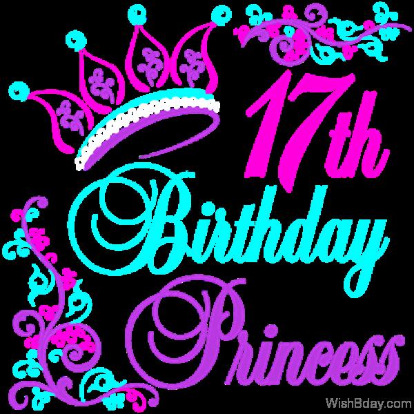 Seventeenth Birthday Princess