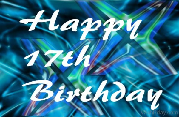 Seventeenth Birthday Wishes