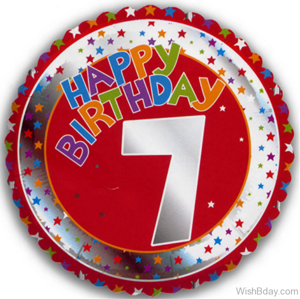 Seventh Happy Birthday Wishes Nice Picture