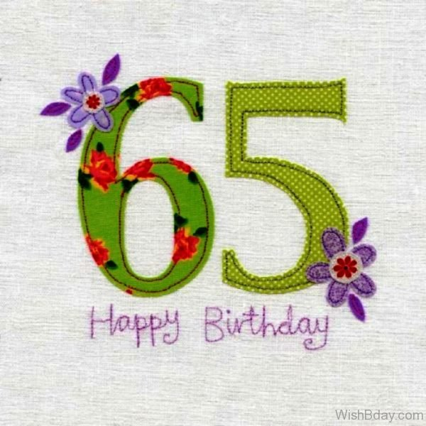 Sixty Five Happy Birthday Wishes 1