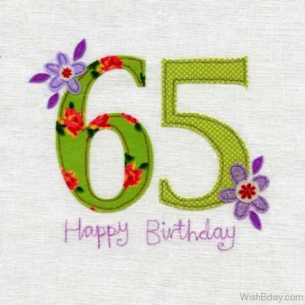 Sixty Five Happy Birthday Wishes