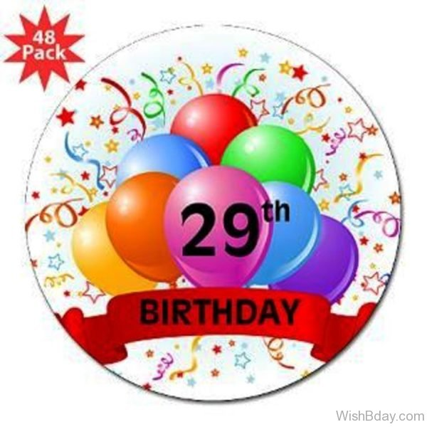 Twenty Nineth Birthday Image 1