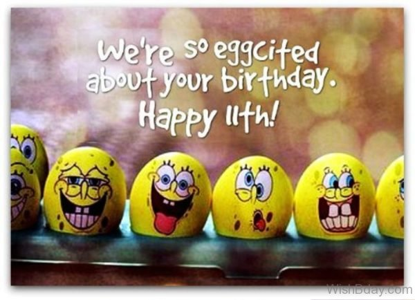 We Are So Eggcited About Your Birthday