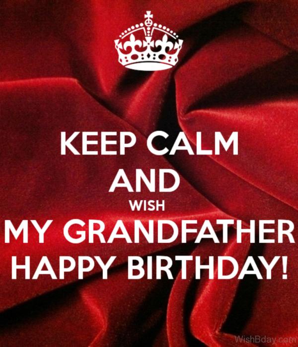 Wishing You A Happy Birthday Grandpa