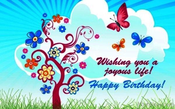 Wishing You A Joyous Life